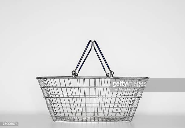 Empty shopping basket.