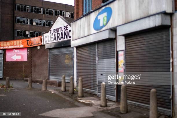 Empty shops line the street in the centre of town in the Black Country which was among the 29 out of 30 West Midlands voting areas to back the...