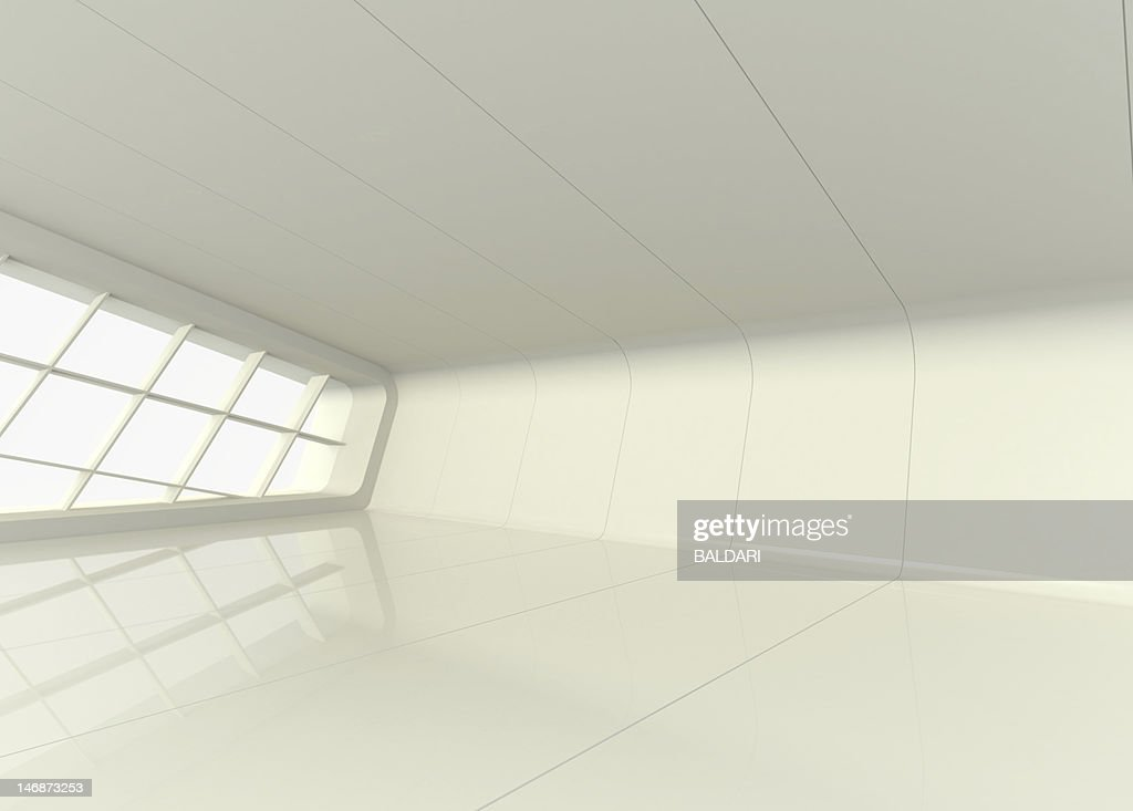 Surprising Empty Showroom With White Walls And Windows Stock Photo Download Free Architecture Designs Scobabritishbridgeorg
