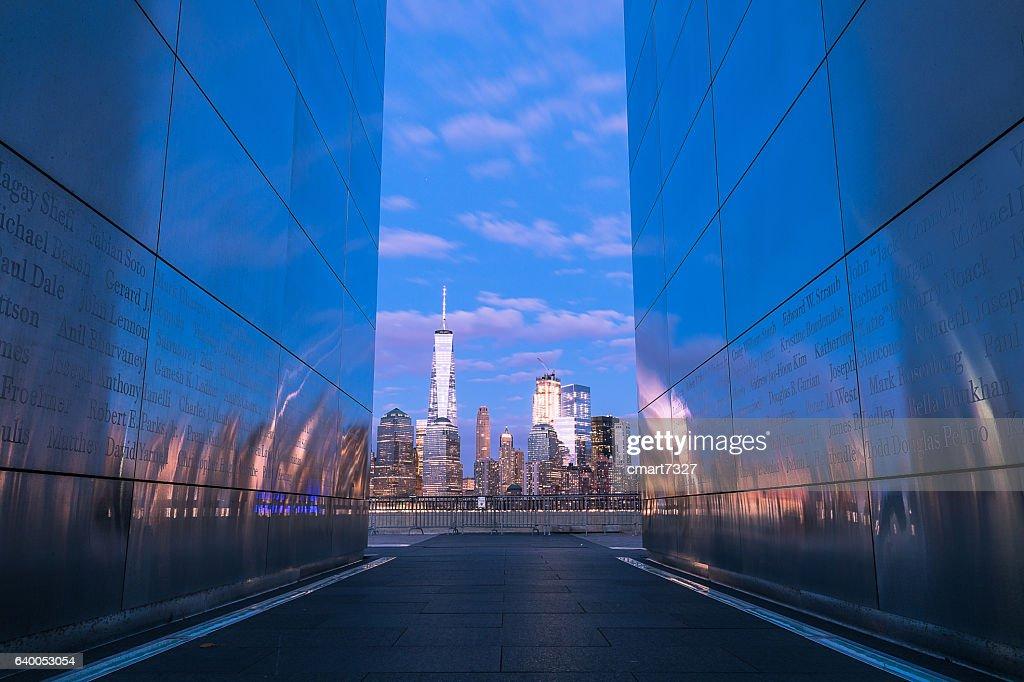 Empty Sky Memorial : Stock Photo