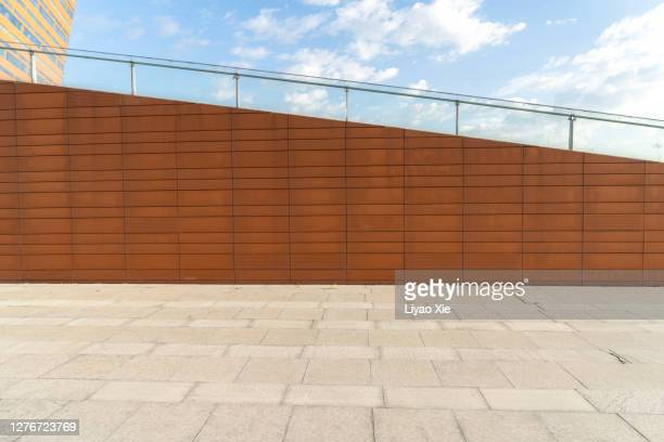 empty space with concrete wall - liyao xie stock pictures, royalty-free photos & images