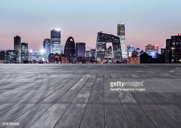 Empty Square, Beijing, China