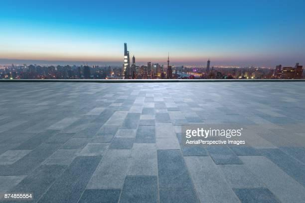 Empty Square of Shanghai