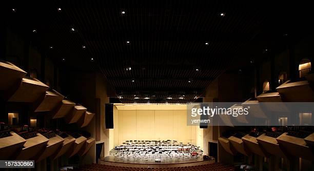 Vide scène de Concert Hall