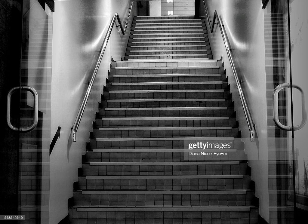 Empty Staircase In Building : Stock Photo
