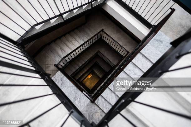empty steps in building - christian soldatke stock pictures, royalty-free photos & images