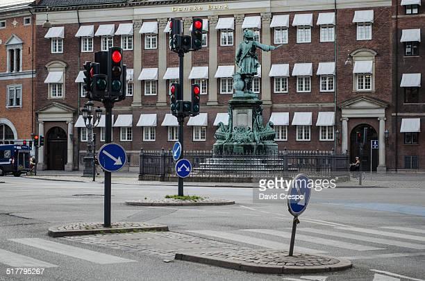 Empty street in Copenhagen