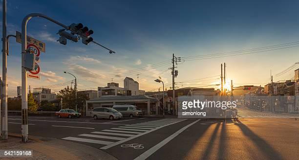 Empty street in Kyoto, Japan