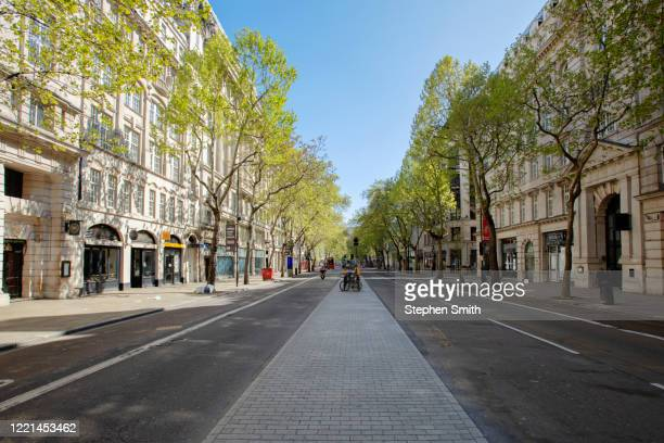 empty streets in london during the lockdown - holborn stock pictures, royalty-free photos & images