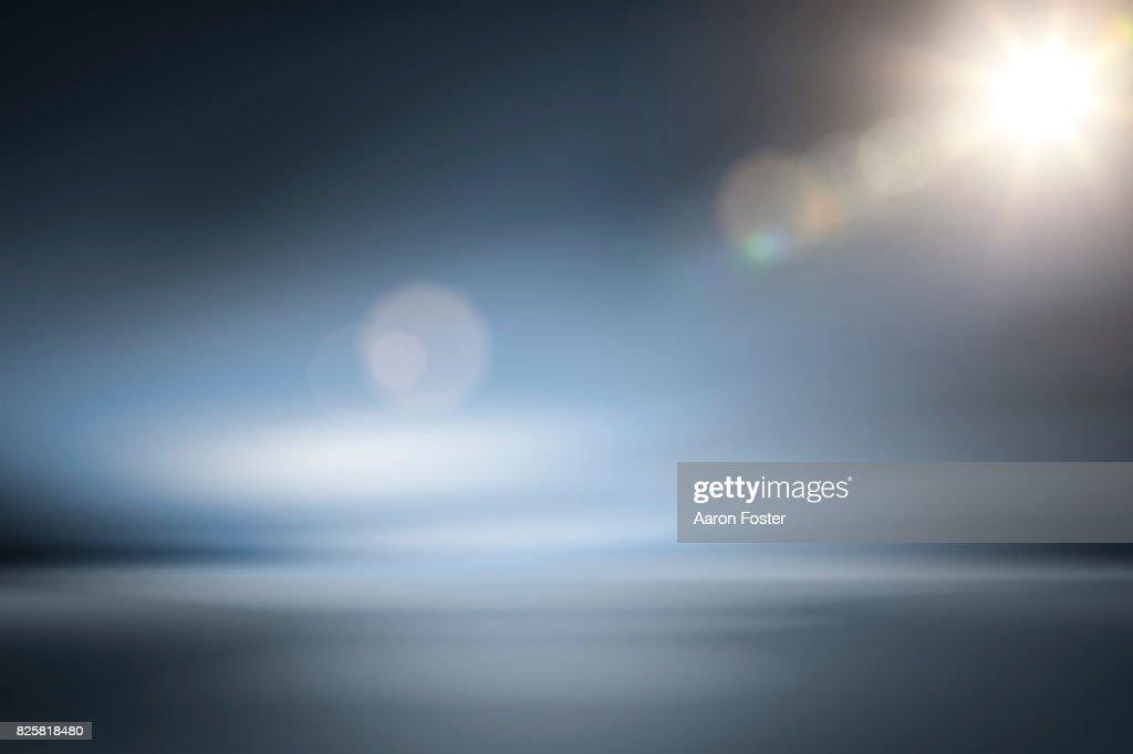Empty Studio Background lighting : ストックフォト