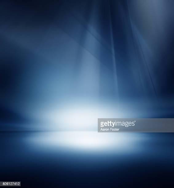 Empty Studio Background lighting
