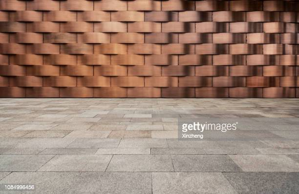empty studio background - brown stock pictures, royalty-free photos & images