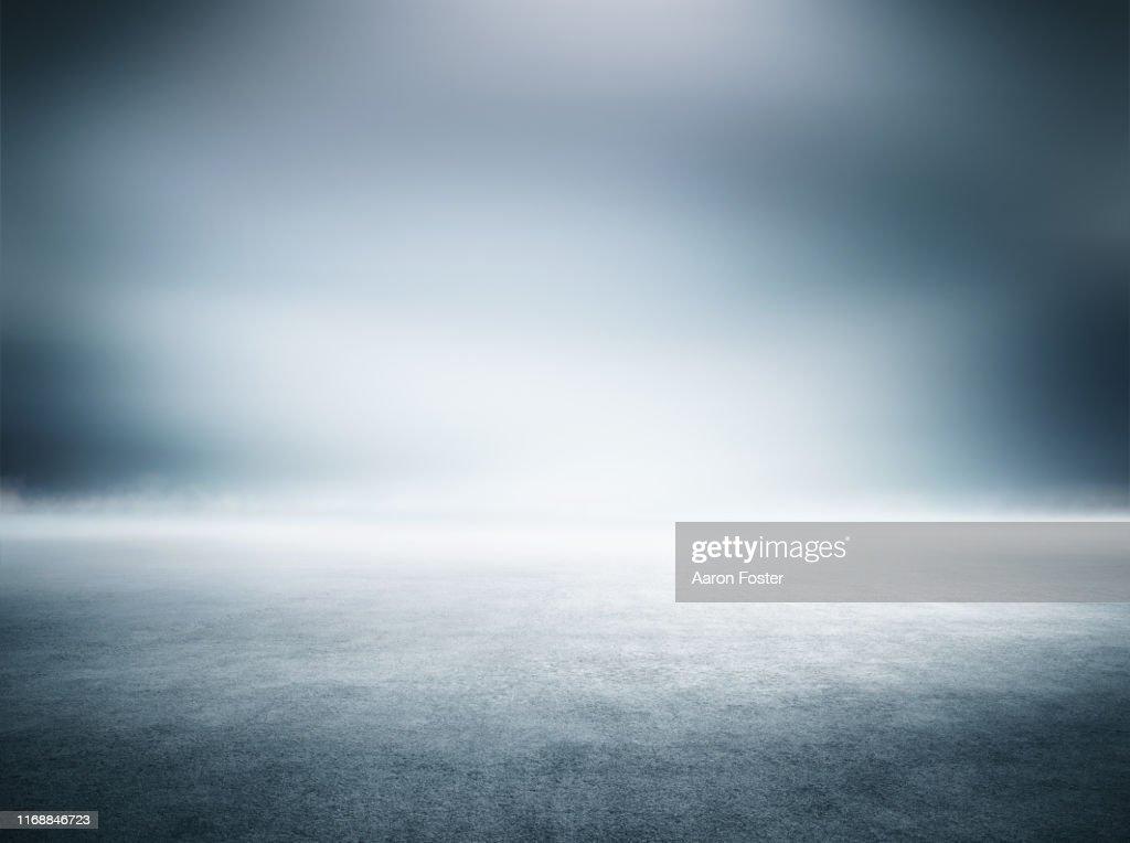 Empty studio background : Stock-Foto