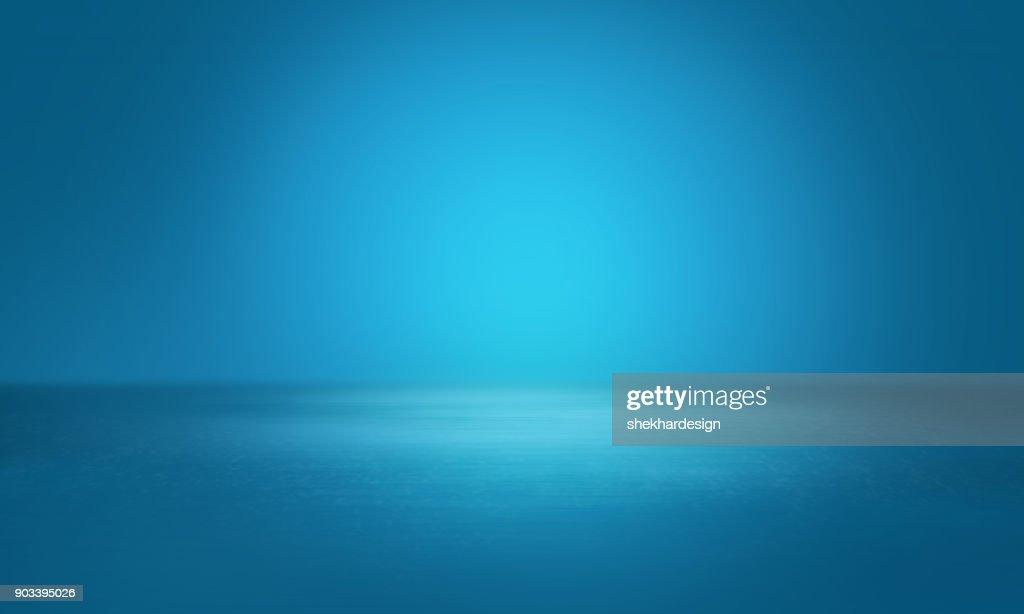 Empty studio background : Stock Photo