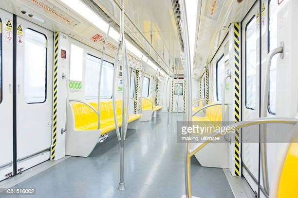 empty subway train - railroad car stock pictures, royalty-free photos & images