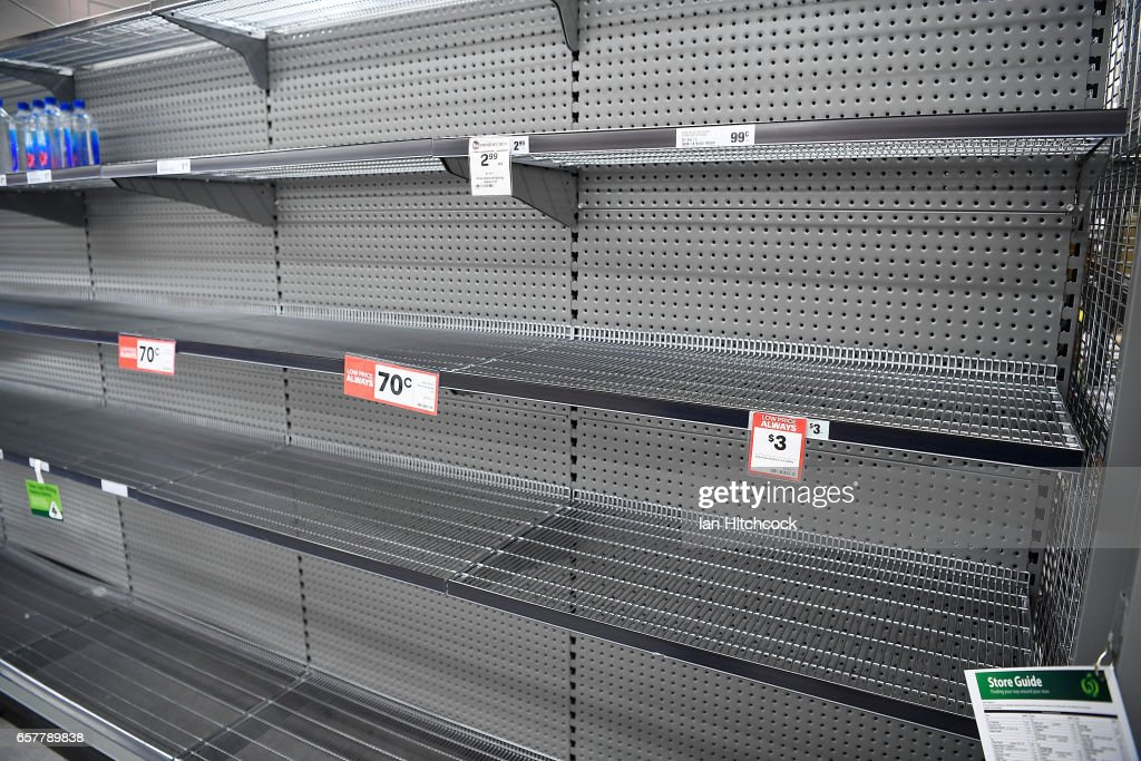 Amazing Empty Supermarket Shelves Are Seen As Townsville Residents Home Remodeling Inspirations Genioncuboardxyz