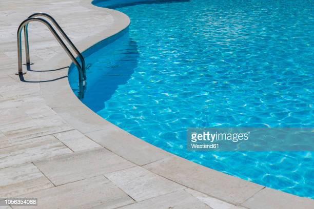 empty swimming pool - poolside stock pictures, royalty-free photos & images