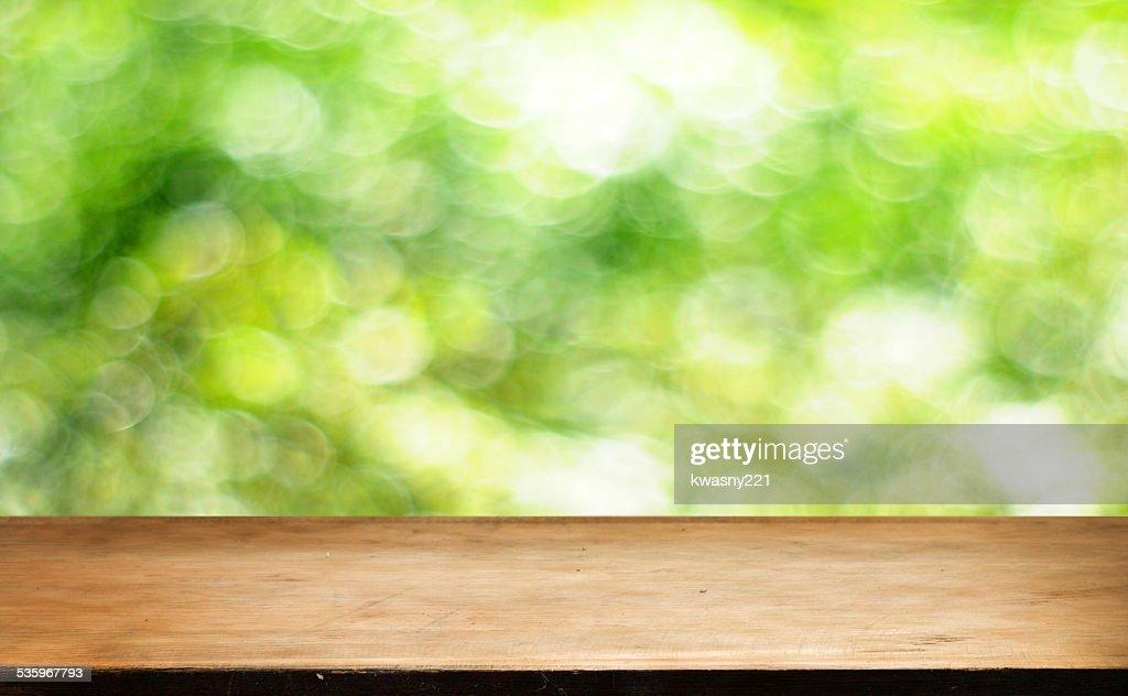 Empty table : Stock Photo