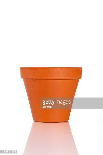 Empty Terracotta Pot