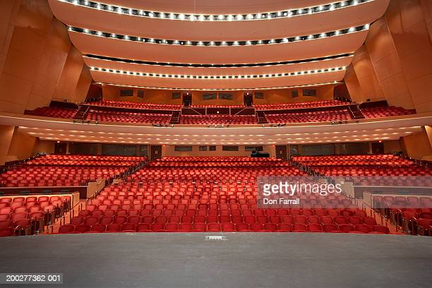 Empty theater, view from stage