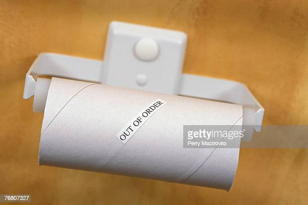 empty toilet paper roll - funny toilet paper stock pictures, royalty-free photos & images