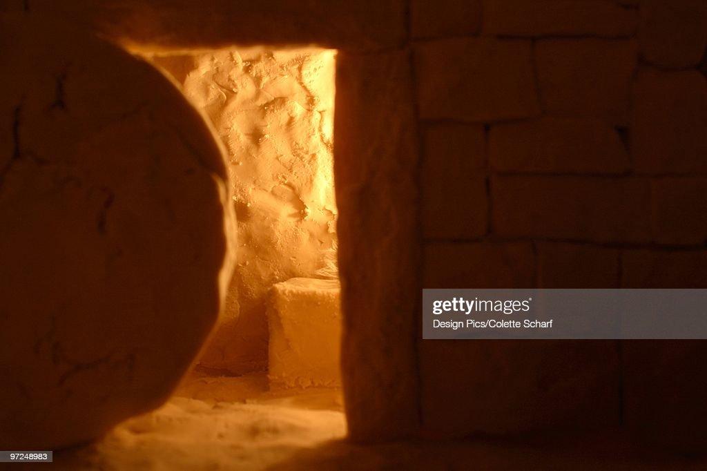 Empty tomb : Stock Photo
