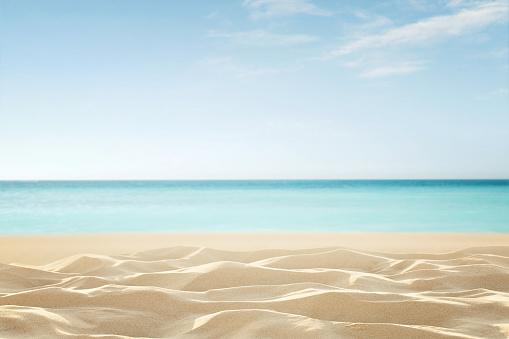 Empty tropical beach 638257238
