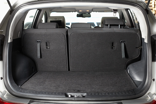 Empty trunk of the car 508423540