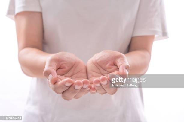 empty two hands on white background. - catching stock pictures, royalty-free photos & images