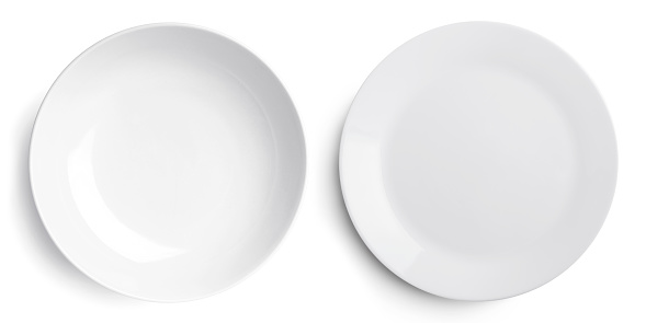 Empty two plate (dish and bowl) 532561134