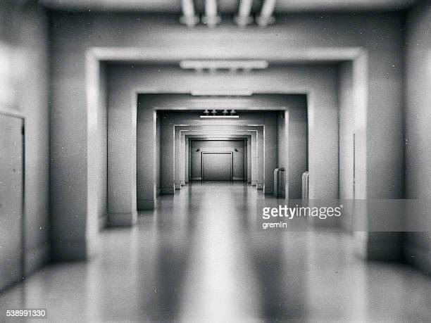 empty underground shelter - bunker stock pictures, royalty-free photos & images