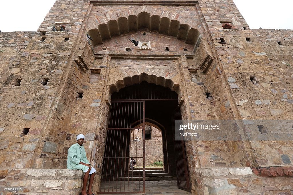 The haunted Bhangarh Fort of Rajasthan : Nieuwsfoto's