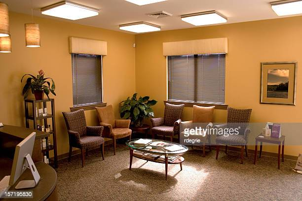 empty waiting room - waiting room stock pictures, royalty-free photos & images