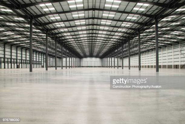 Empty warehouse Coventry West Midlands UK