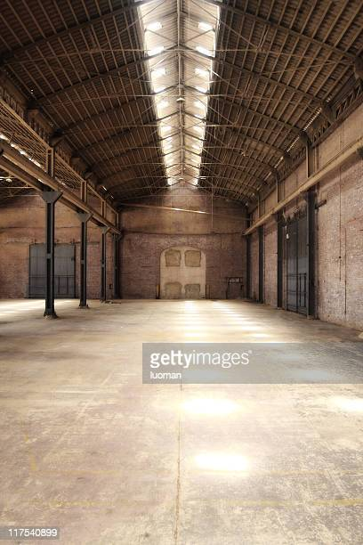 empty warehouse - run down stock pictures, royalty-free photos & images