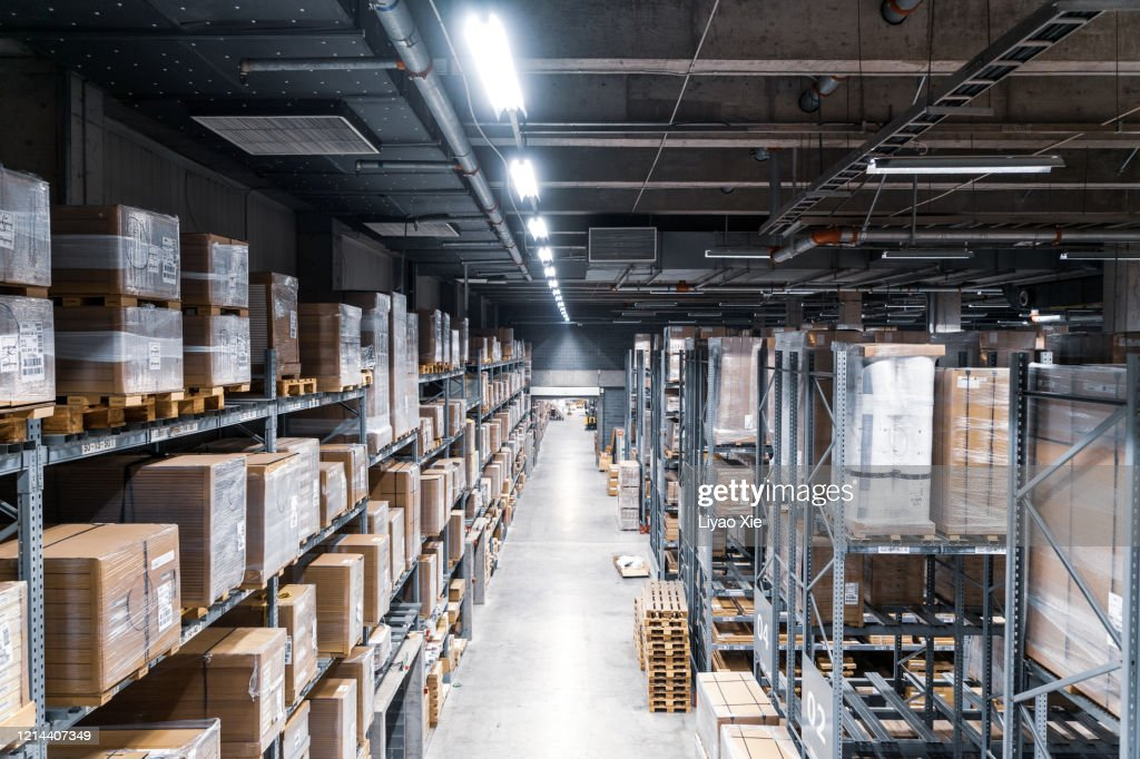 Empty warehouse : Stock Photo