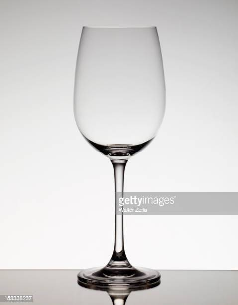 empty wine glass - wine glass stock photos and pictures