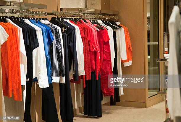 empty women boutique - womenswear stock pictures, royalty-free photos & images