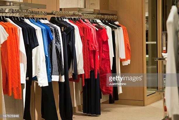 Empty women boutique