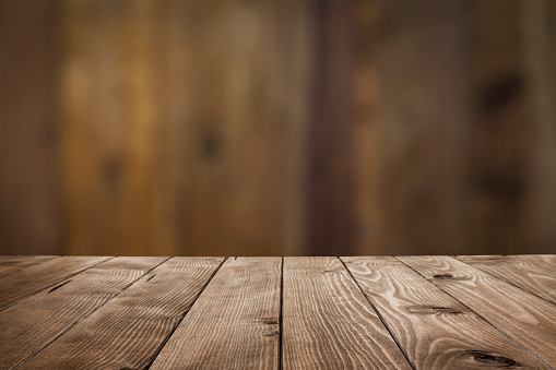 Empty wood table with dark vertical table background 1011317092