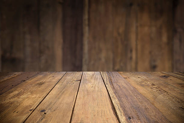 Empty wood table with defocused vertical table background. Free wood table Images  Pictures  and Royalty Free Stock Photos