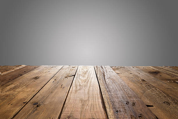Empty wood table with gray background. Free table wood Images  Pictures  and Royalty Free Stock Photos