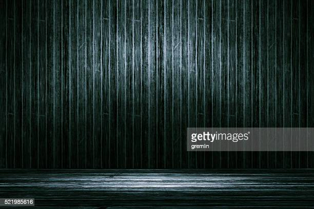 Empty wooden background
