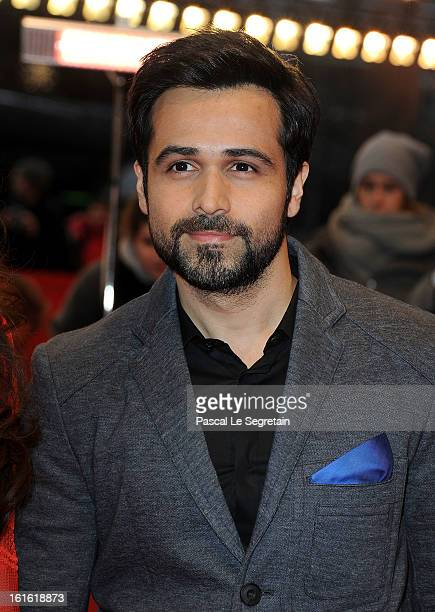 Emraan Hashmi attends the 'An Episode in the Life of an Iron Picker' Premiere during the 63rd Berlinale International Film Festival at the Berlinale...