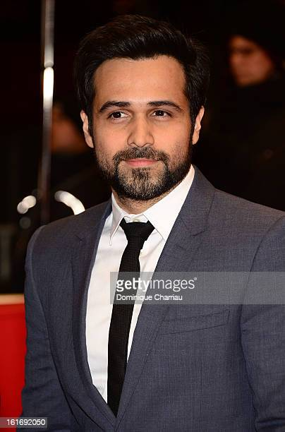 Emraan Hashmi attends the 'Dark Blood' Premiere during the 63rd Berlinale International Film Festival at Berlinale Palast on February 14 2013 in...