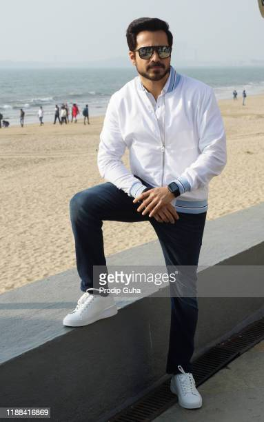 Emraan Hashmi attends the 'The Body film photocall on November 18 2019 in Mumbai India