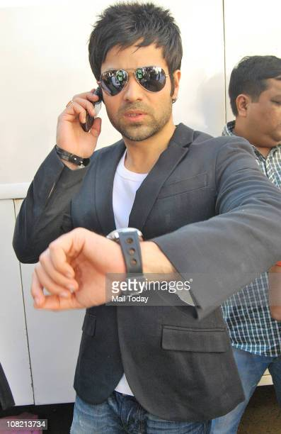 Emraan Hashmi during a promotional event of the film Dil to Bacha Hai Jee in TV show Jhalak Dikhla Jaa in Mumbai on Thursday