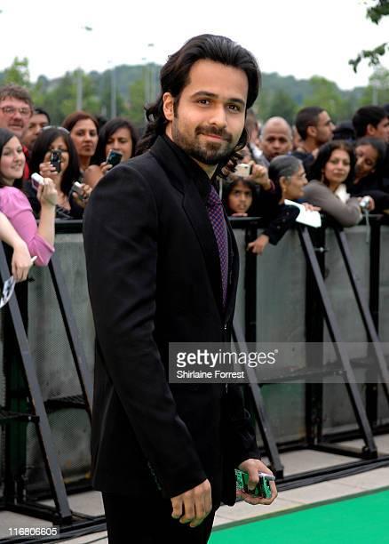 Emraan Hashmi during The Train UK Film Premiere Green Carpet Arrivals at Cineworld in Castleford West Yorkshire United Kingdom