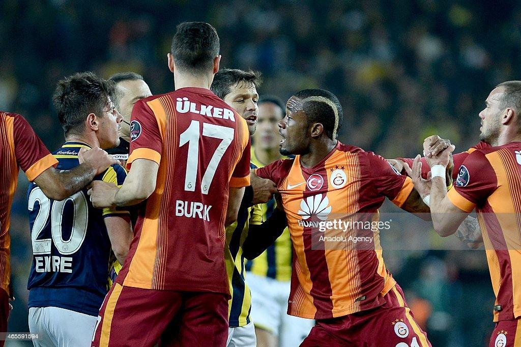 Fenerbahce vs Galatasaray: Turkish Spor Toto Super League : News Photo