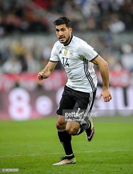 Emre Can of Germany runs during the International Friendly match between Germany and Italy at Allianz Arena on March 29 2016 in Munich Germany